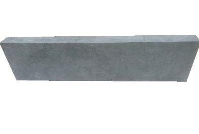 Hardstenen plint 80x250x1000 mm