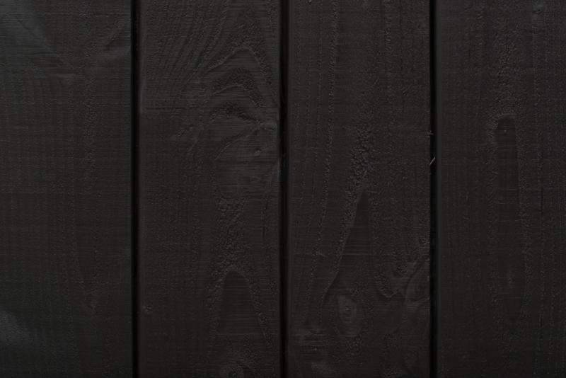 Douglas fins rabat zwart 18x125x3000