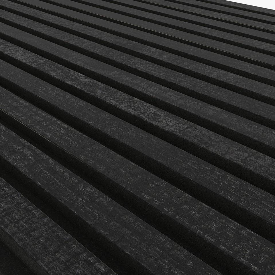 Akupanel Charcoal 600x2400 mm