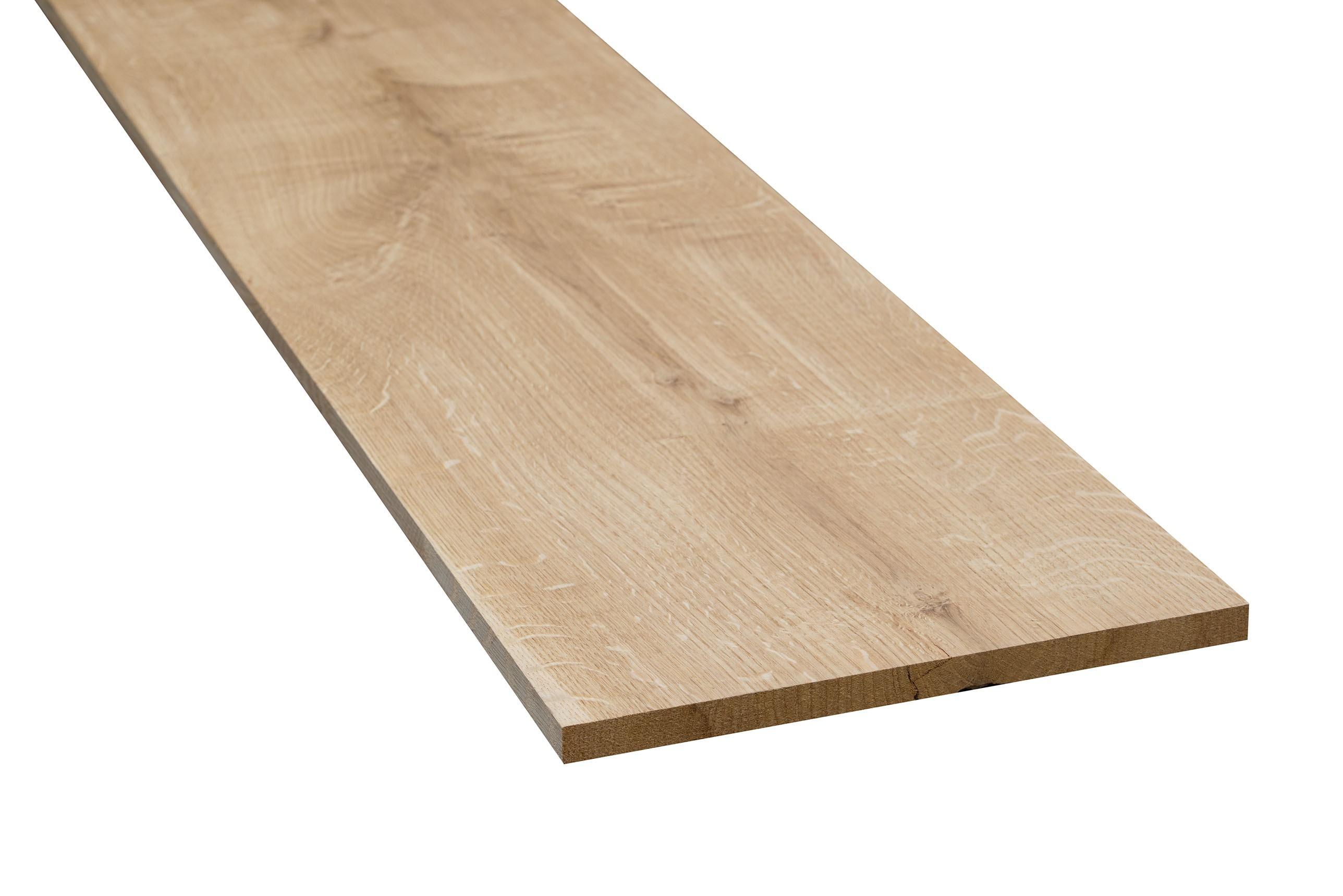 Eiken meubelhout geschaafd 20x250x1800