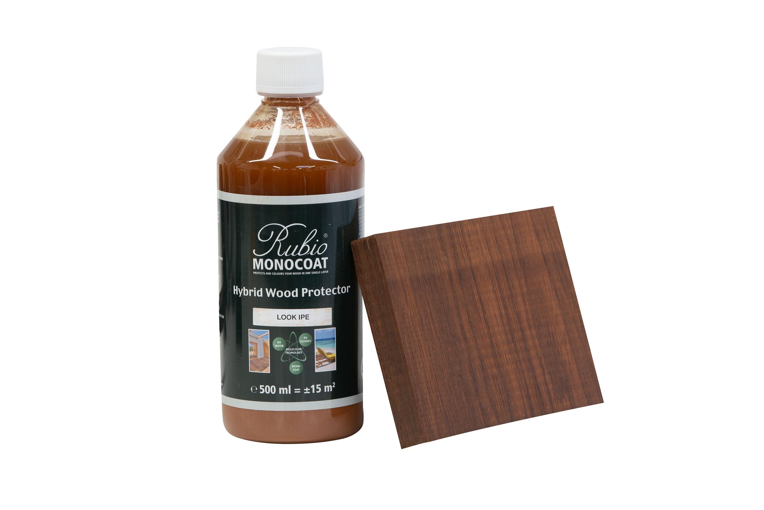 Monocoat hybrid wood protector look ipé 500 ml