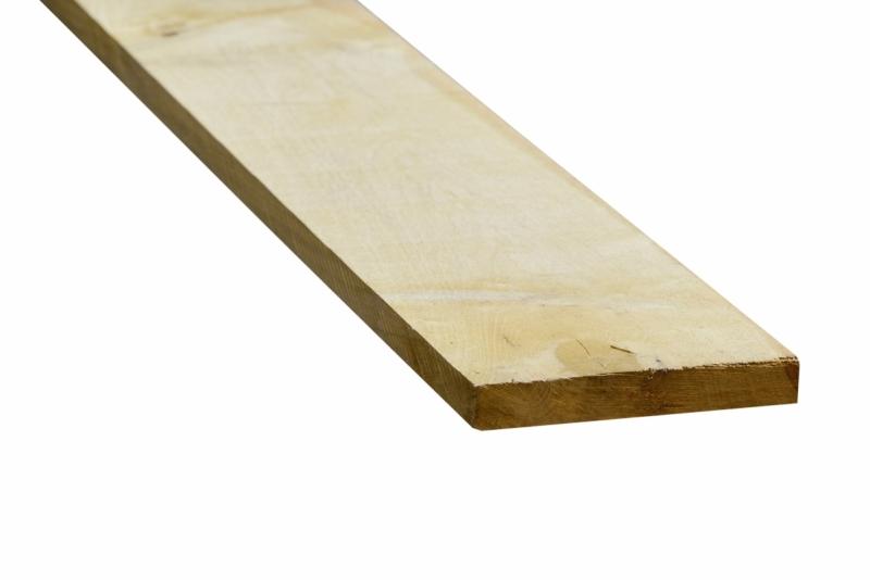 Eiken plank 27x200