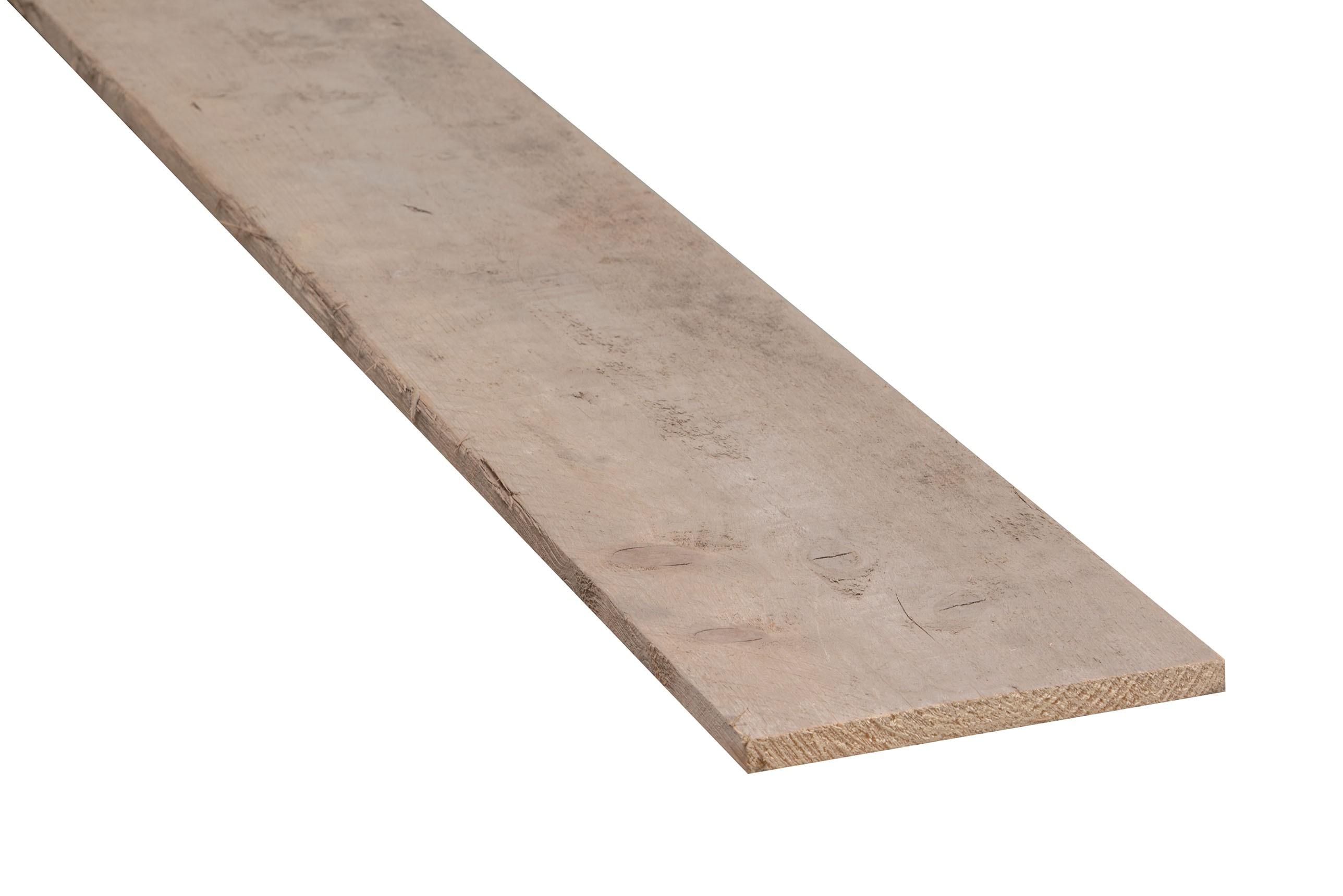 Gebruikt steigerhout dun  15x200x4600