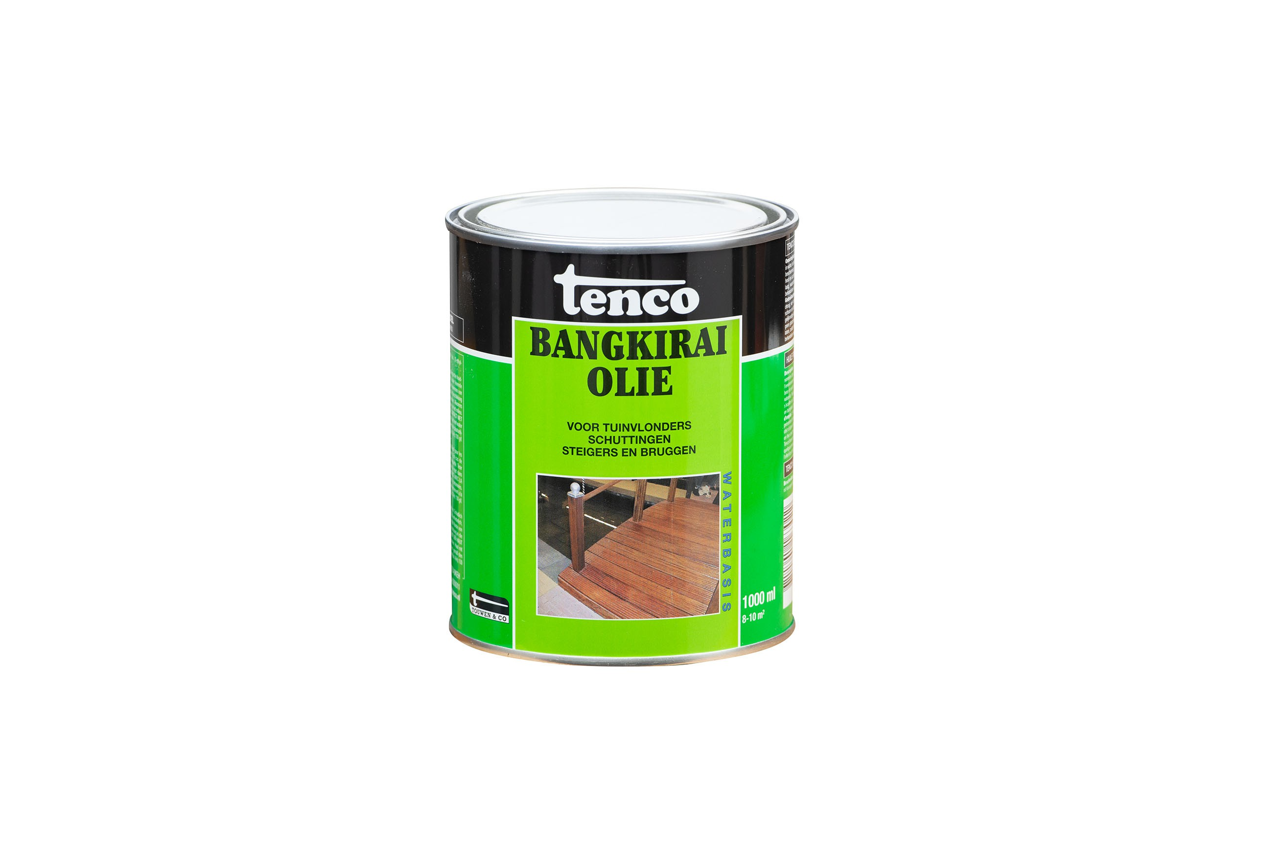 Tenco Bankirai olie  transparant 1 liter