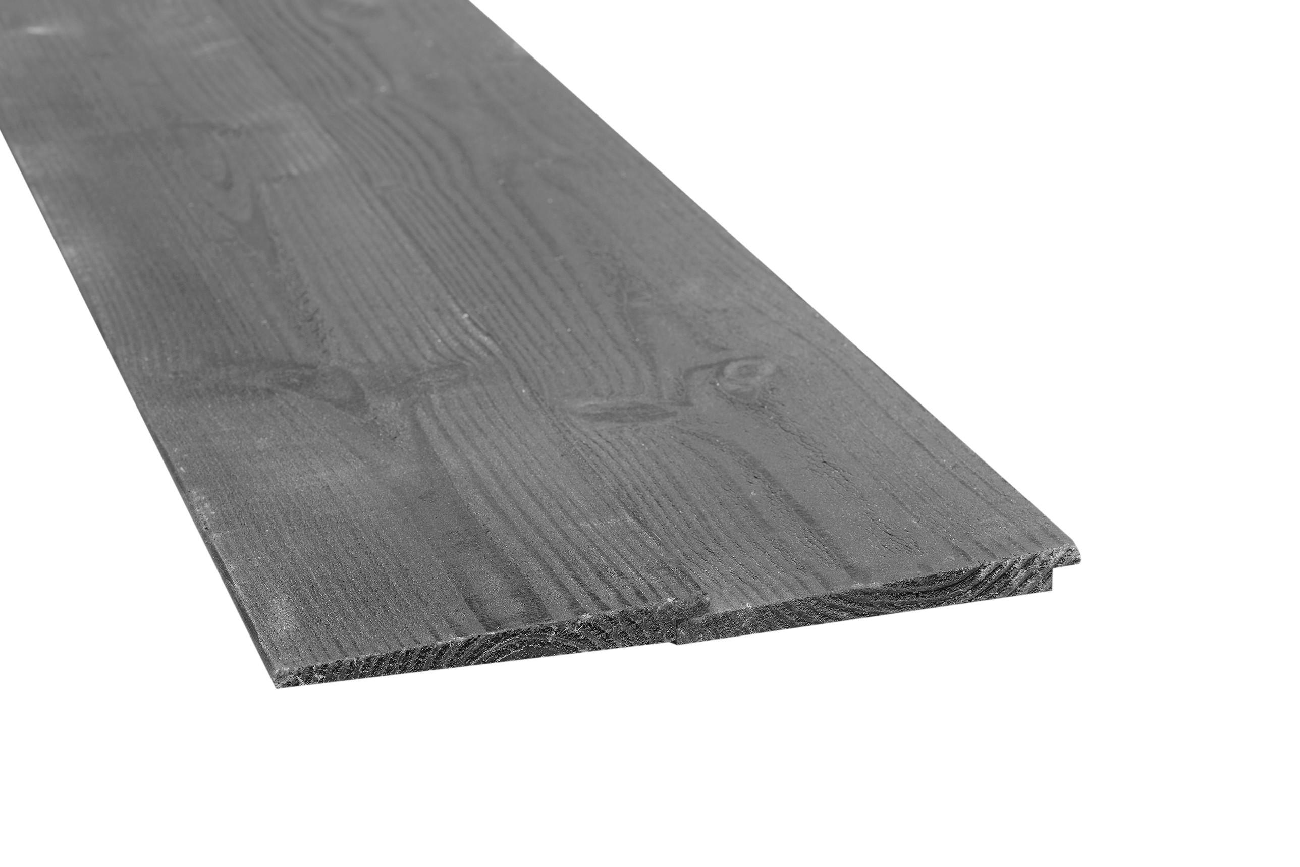 Douglas zweeds rabat donker grijs 22x185