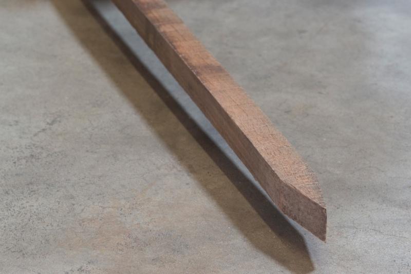 Hardhouten piket paaltjes 40x40x600 mm