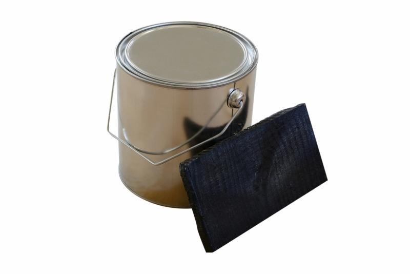 Topdeq Beits zwart 2.5 liter
