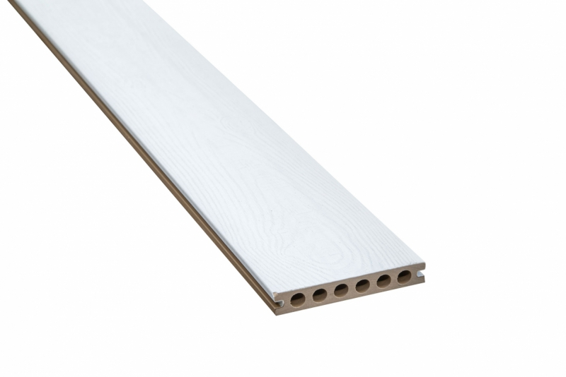 Vlonderplank Composiet Supradeck Antiek/Wit 23x140x2200 mm