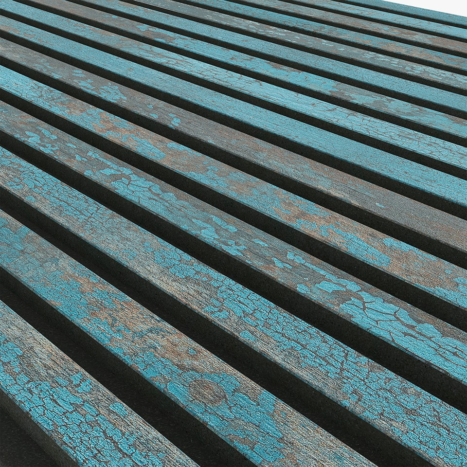Akupanel Bleu Oxide 600x2400 mm