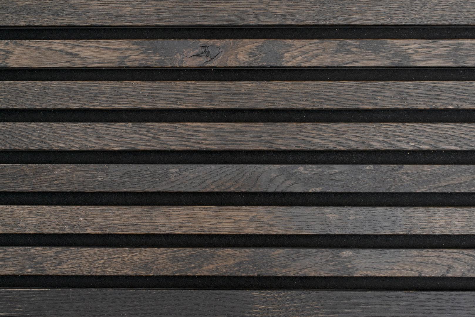 Akoestisch Paneel Nawood Eiken Black Forest 600x3000 mm