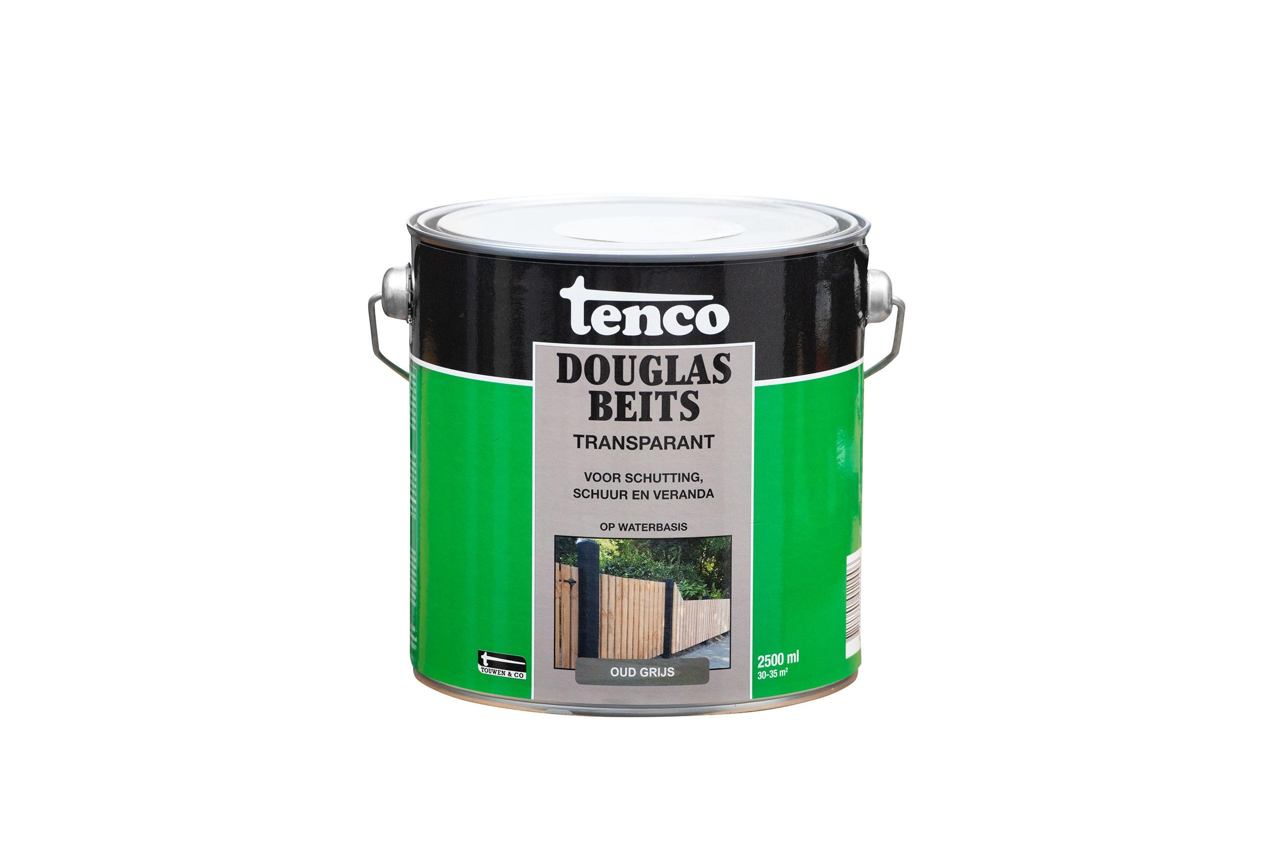 Tenco Douglas beits transparant Oud grijs 2,5 liter