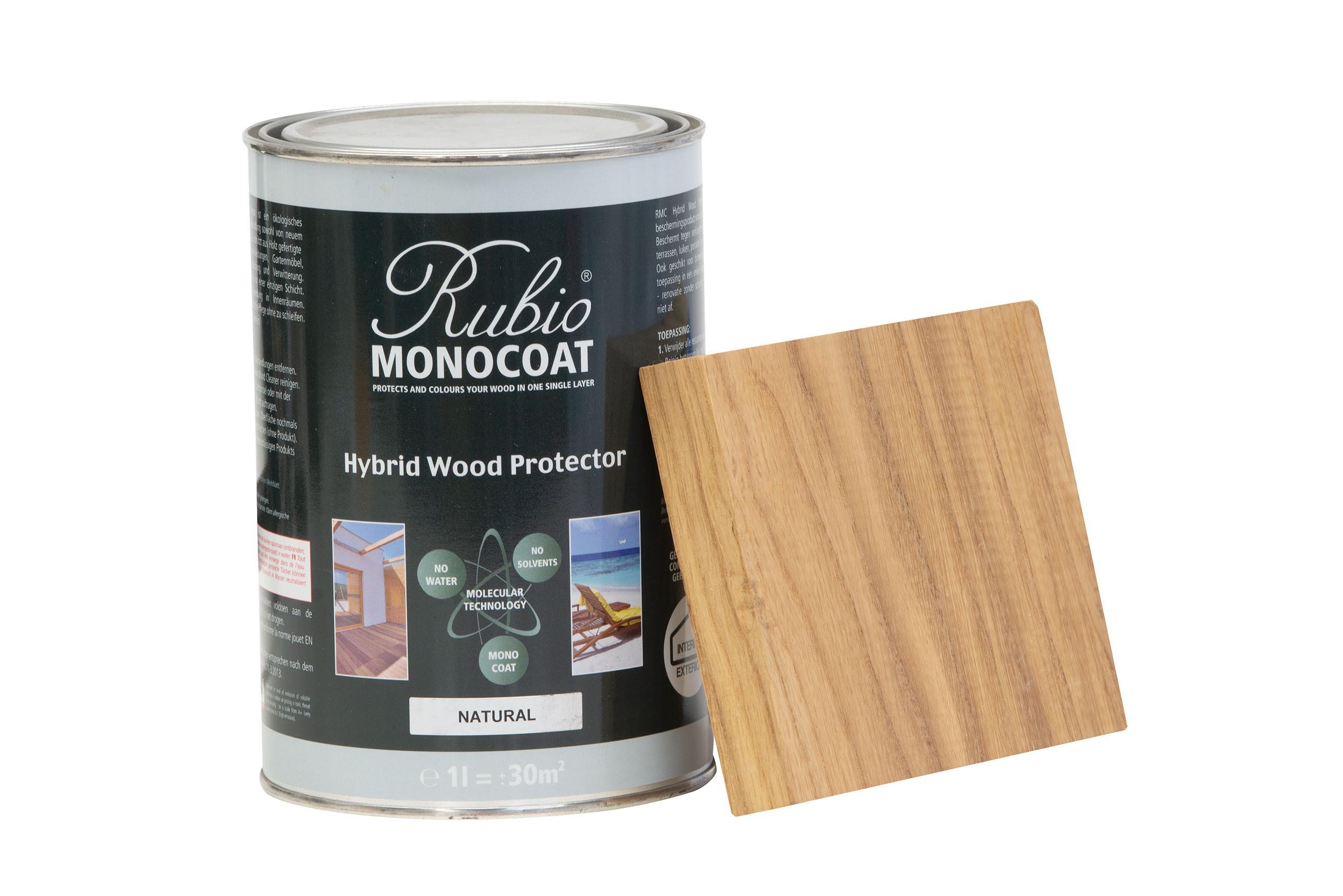 Monocoat hybrid wood protector natural 1 liter