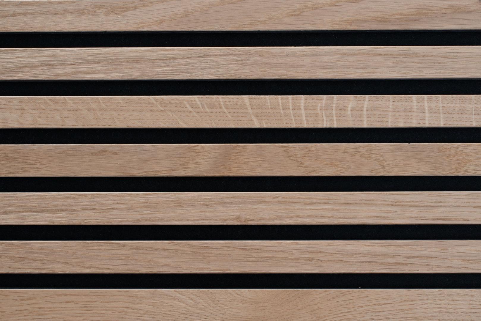 Akoestisch Paneel Nawood Eiken Pure 600x3000 mm
