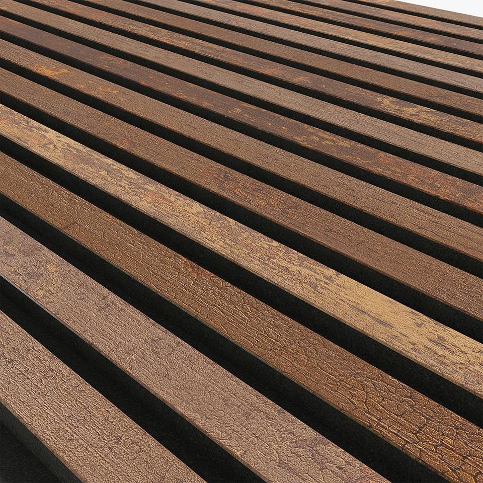 Akupanel Copper Oxide 600x2400 mm