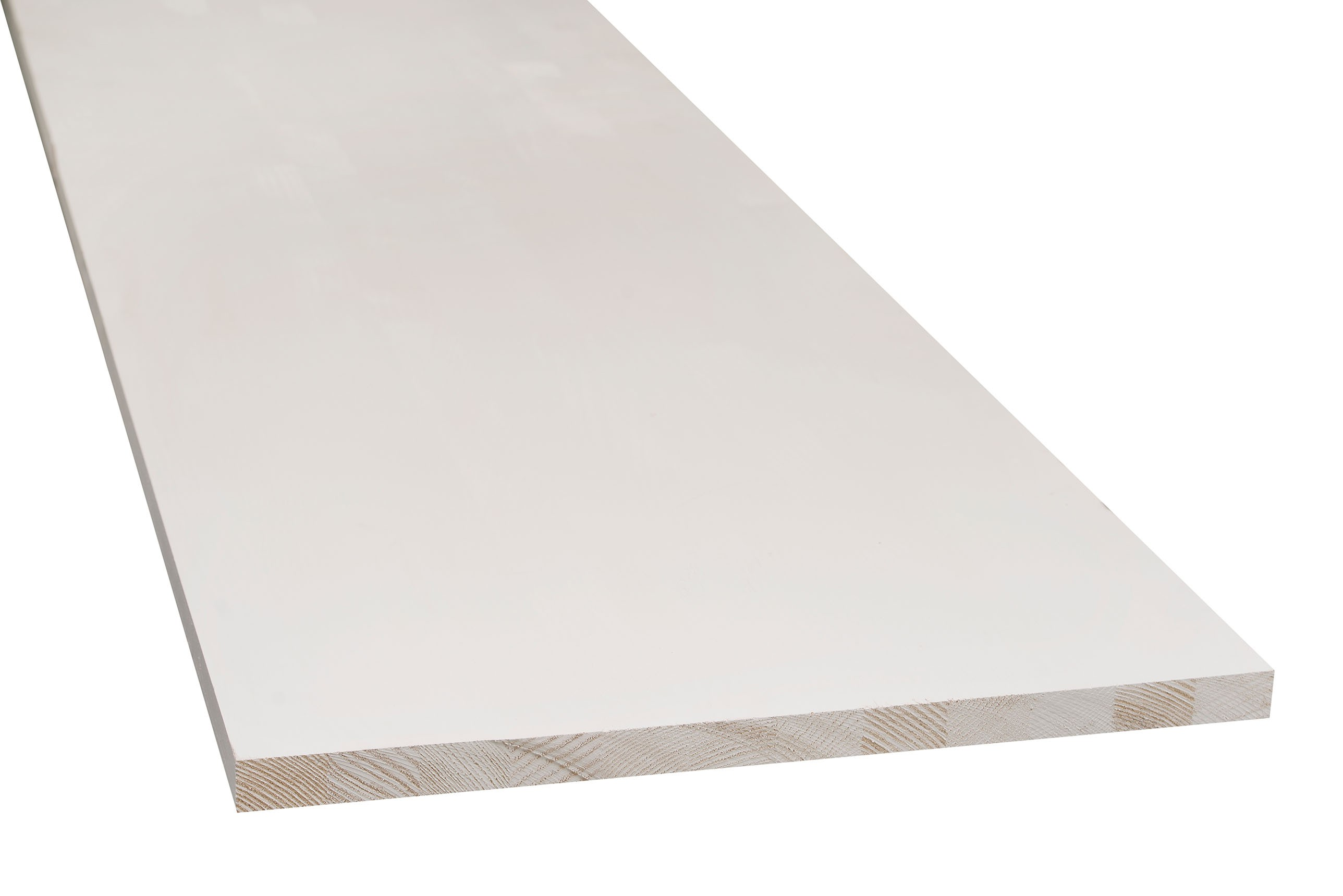 Grenen timmerpanelen wit gegrond 30x550x2700 mm