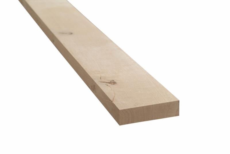 Eiken meubelhout geschaafd 40x150x2000