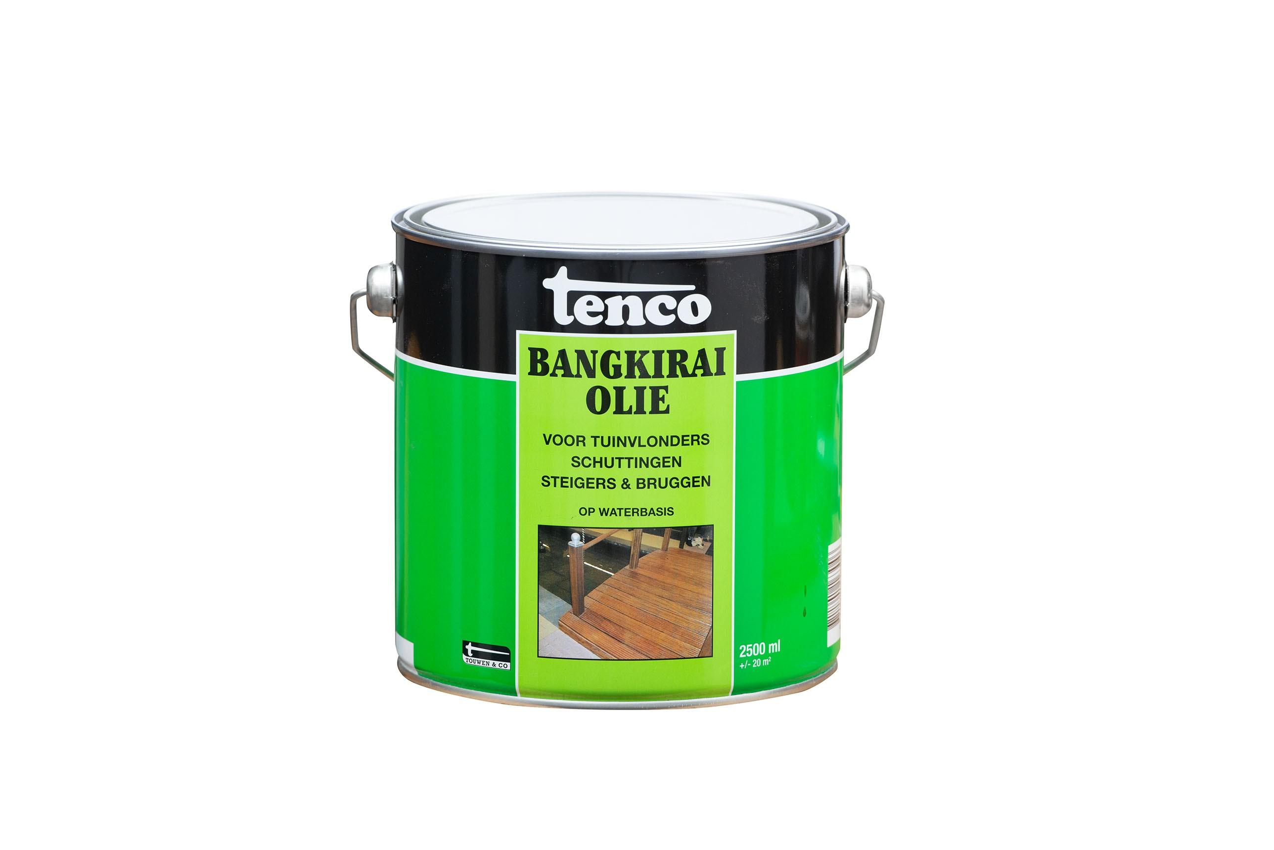 Tenco Bankirai olie  transparant 2,5 liter