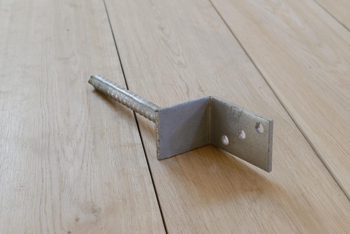 Lxvorm paaldraager 30 cm