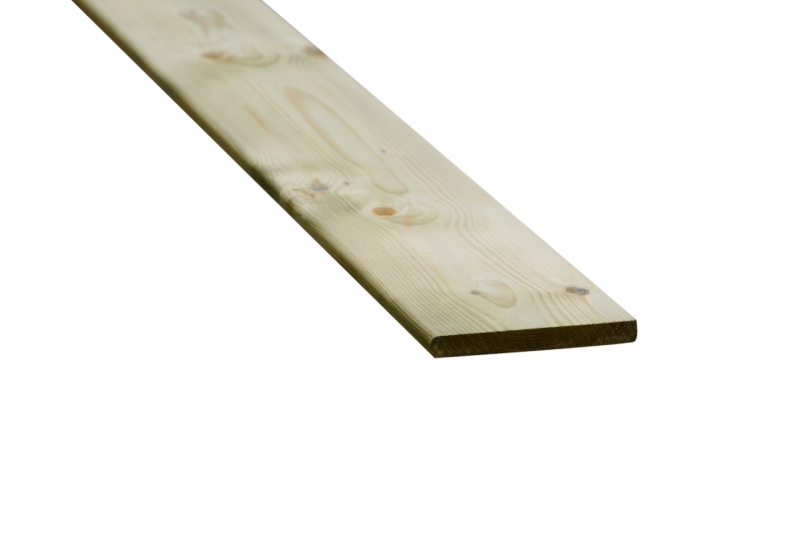 Vuren schutting plank geimpregneerd 18x145