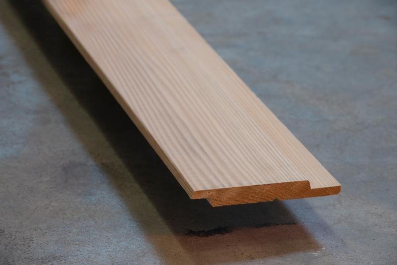 Western Red Cedar channelsiding 18x130 mm