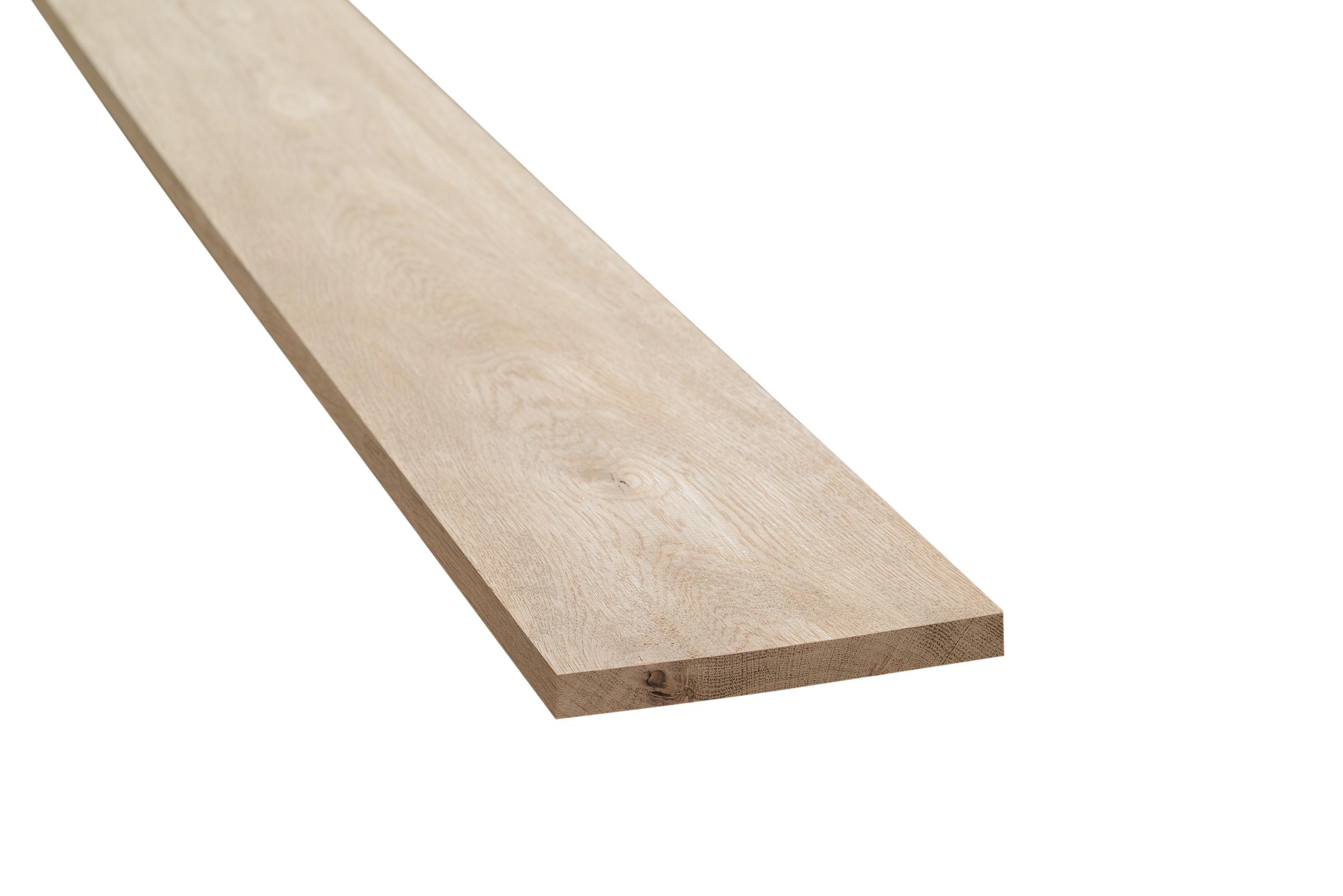 Eiken meubelhout geschaafd 20x180x2000