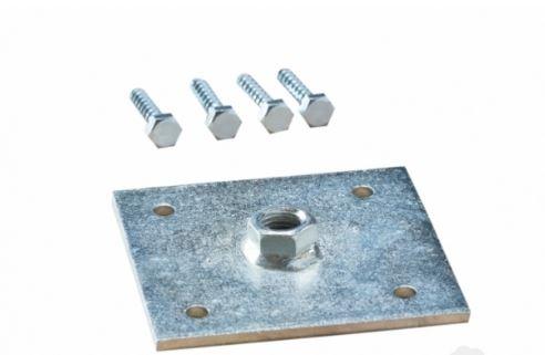 Bevestigings plaatje M24 10,5x10,5 cm