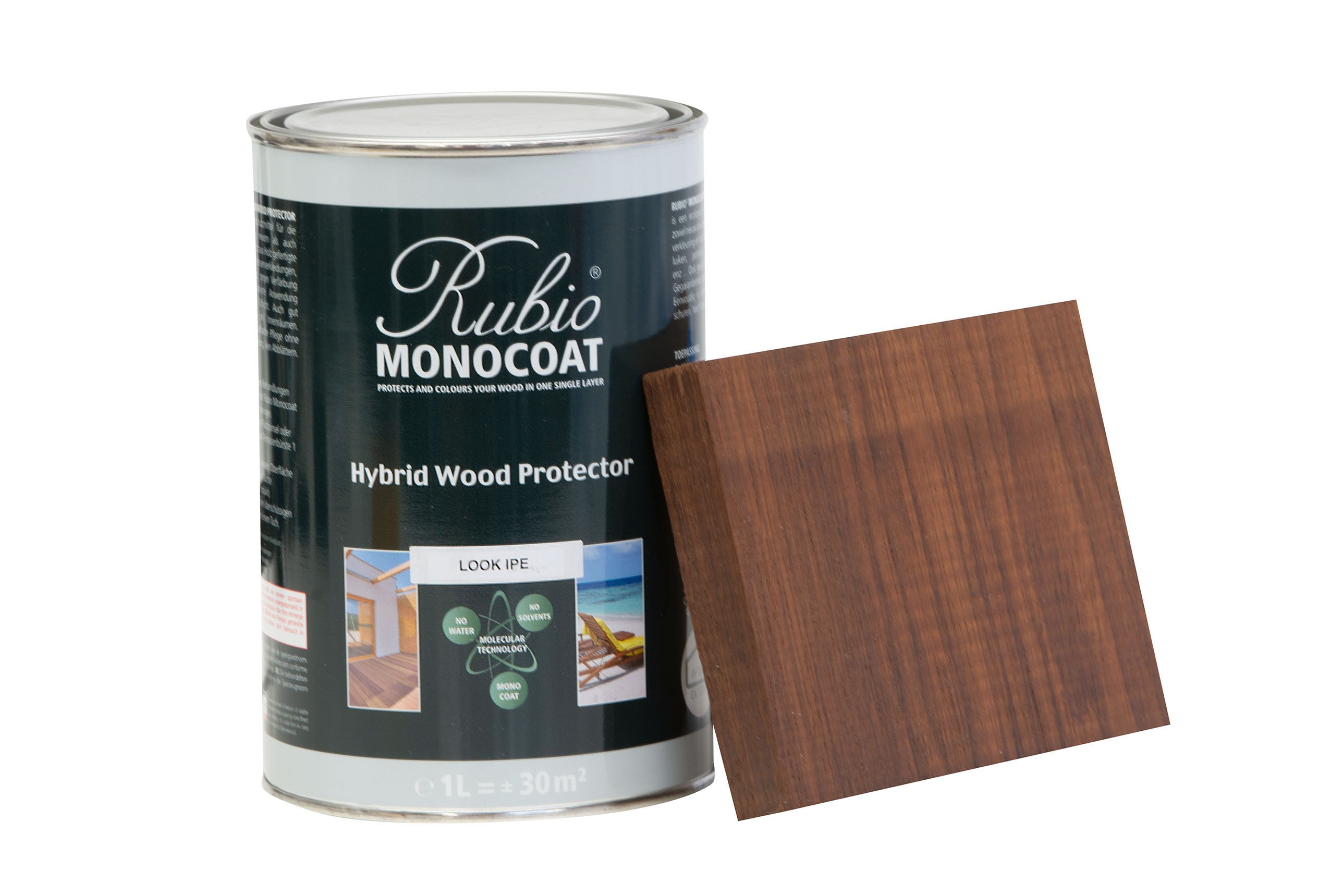 Monocoat hybrid wood protector look ipé 1 liter