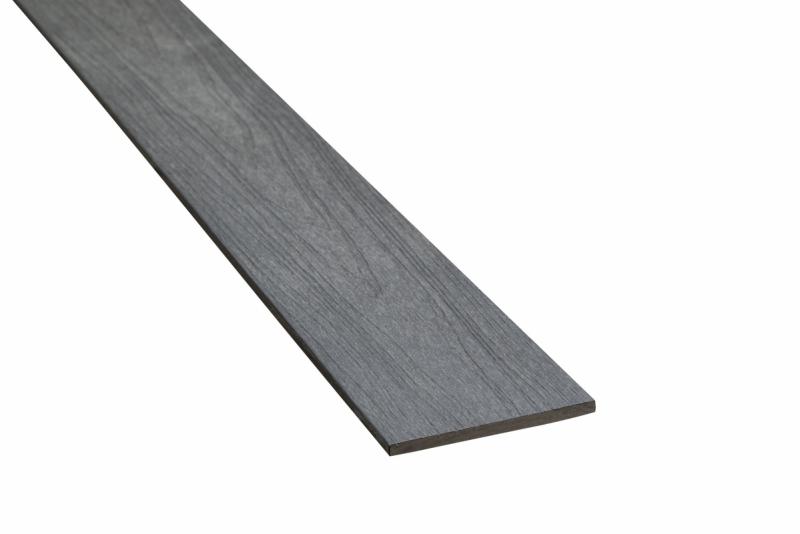 Plint Composiet Supradeck Zwart 10x140x2200 mm