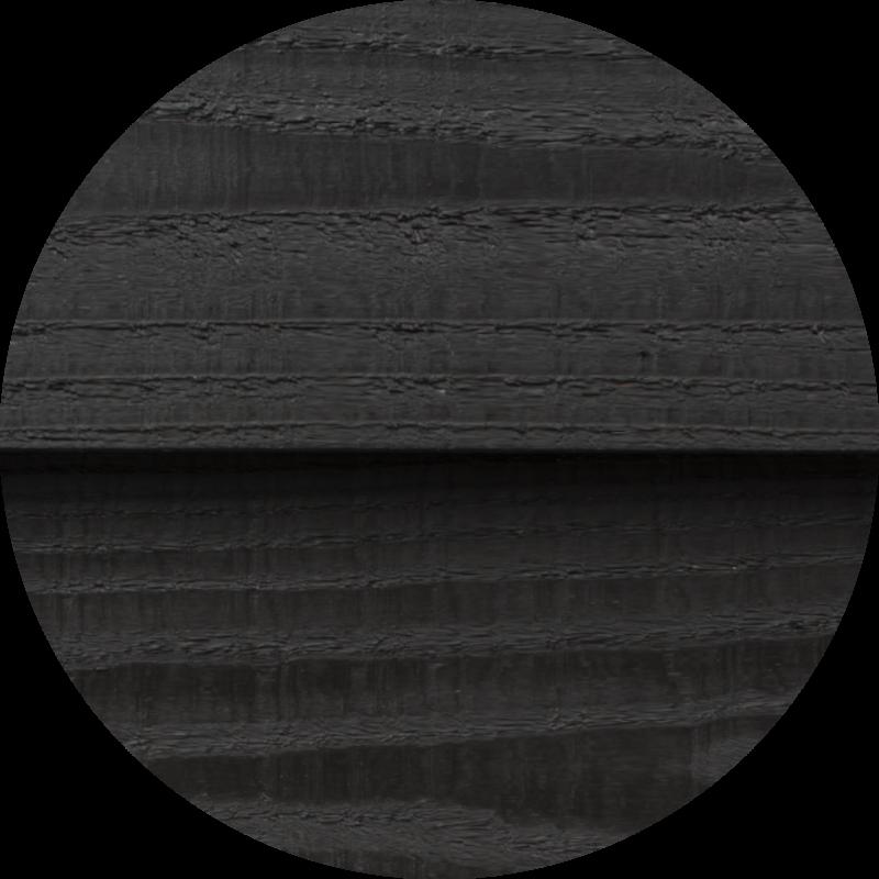 Douglas zweeds rabat zwart 22x185x4000