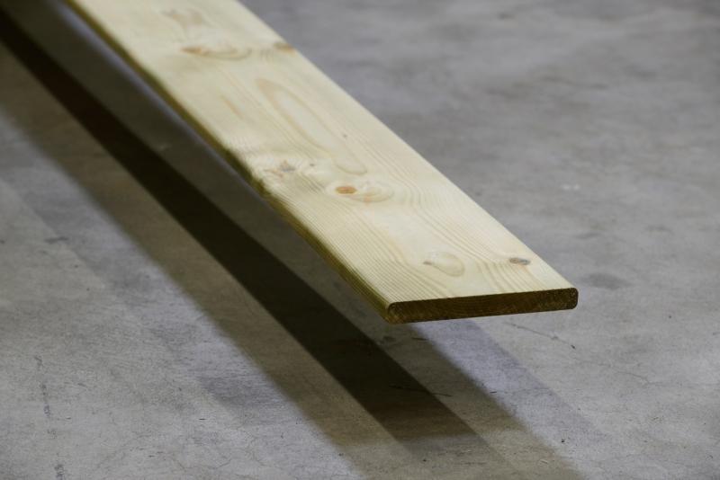 Vuren schutting plank geimpregneerd 18x145x4800