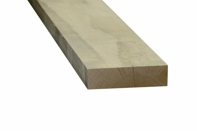 Eiken plank 50x200