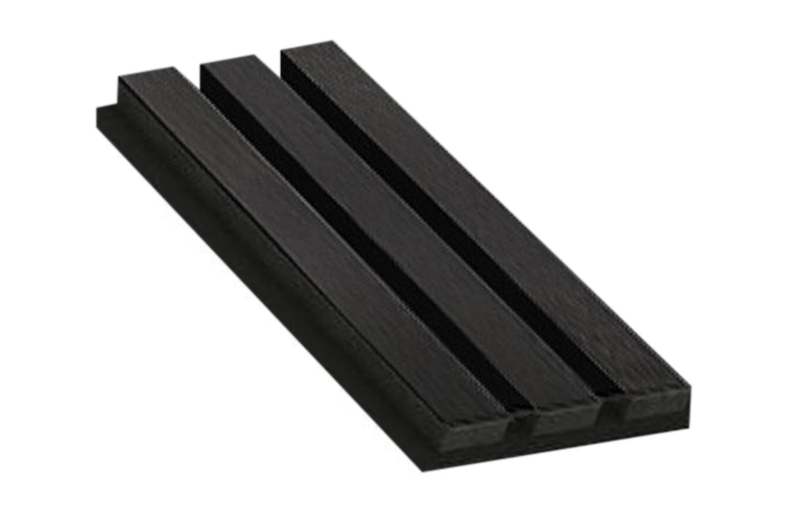Akupanel Black Ash Sample