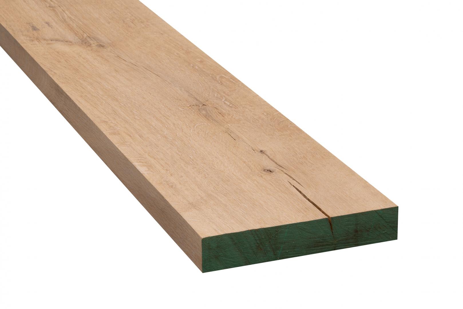 Eiken meubelhout geschaafd 40x240x2000