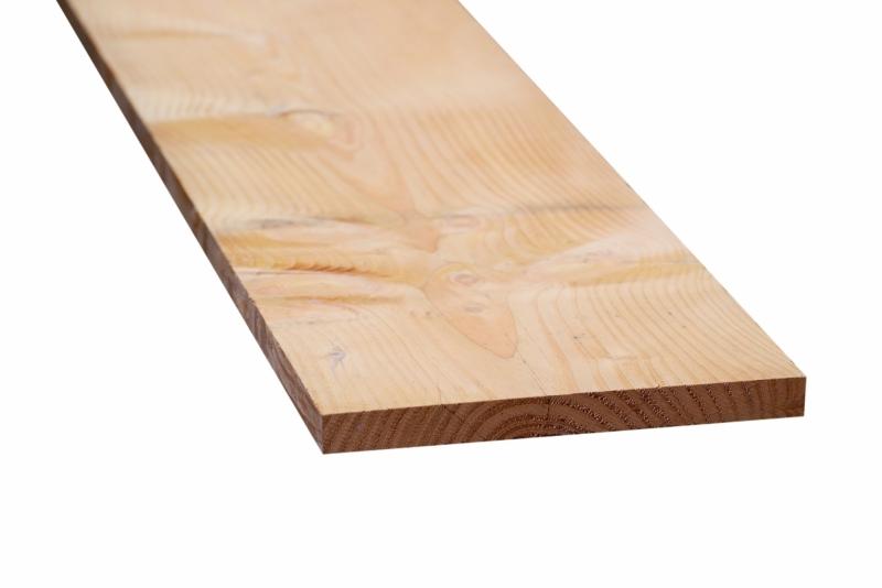 Douglas plank 25x250